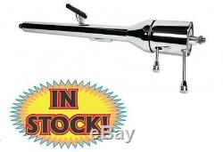 Ididit 55-56 Chevy Tri-Five Chrome Tilt Floor Shift Steering Column 1120550020