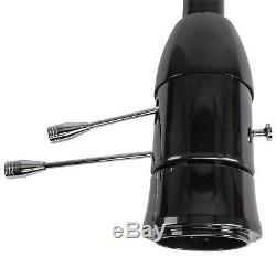 JEGS 70467 Universal Floor Shift Tilt Steering Column, Black, 2 Dia, 32 L