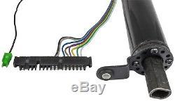 JEGS 70477 Tilt Steering Column, Column Shift, 2 Diameter, 32 Length, Black