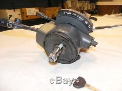 Jeep Wrangler YJ Factory Tilt Automatic Steering Column OEM 87-95 Key 140k miles