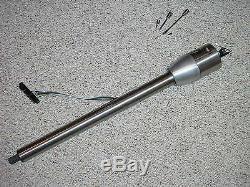 RAW 30 Paintable Tilt Steering Column Floor Shift street hot rat rod GM plain