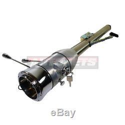 Raw 32 Manual Floor Shift Tilt Steering Column Ignition Key Street HotRod Chevy