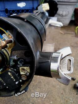 Refurbished TILT STEERING COLUMN Manual Floor Shift 87-91 Ford F150 F250 Bronco