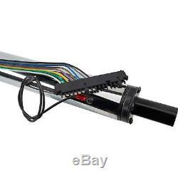 Standard GM 5-Position Tilt Steering Column, 30 Inch Long, Chrome