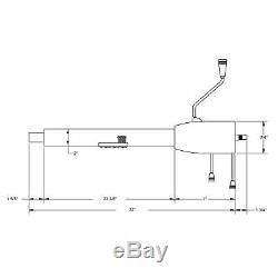 Standard GM 5-Position Tilt Steering Column, 32 In, Column Shift