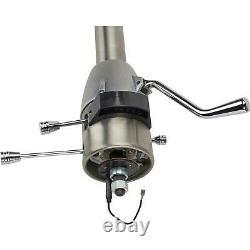 Standard GM 5-Position Tilt Steering Column, 33In, Column Shift, Plain