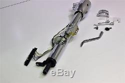 Steering Columns 30 Inch Chrome Tilt With Key Auto Shift 3 Or 4 Speed Auto Adr
