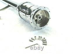 Universal GM 32'' Tilt Manual Steering Column With Wheel Adapter Chrome S81015C