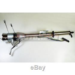 Universal RAW 28 Auto column Shift Tilt Steering Column+Ignition Key GM Chevy