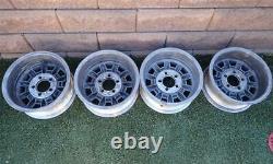 Western Minilite Wheels 14x7 Aluminum Rims GM Ford Mopar 5 on 4.5 4.75 Set of 4
